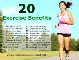 exercise benefits