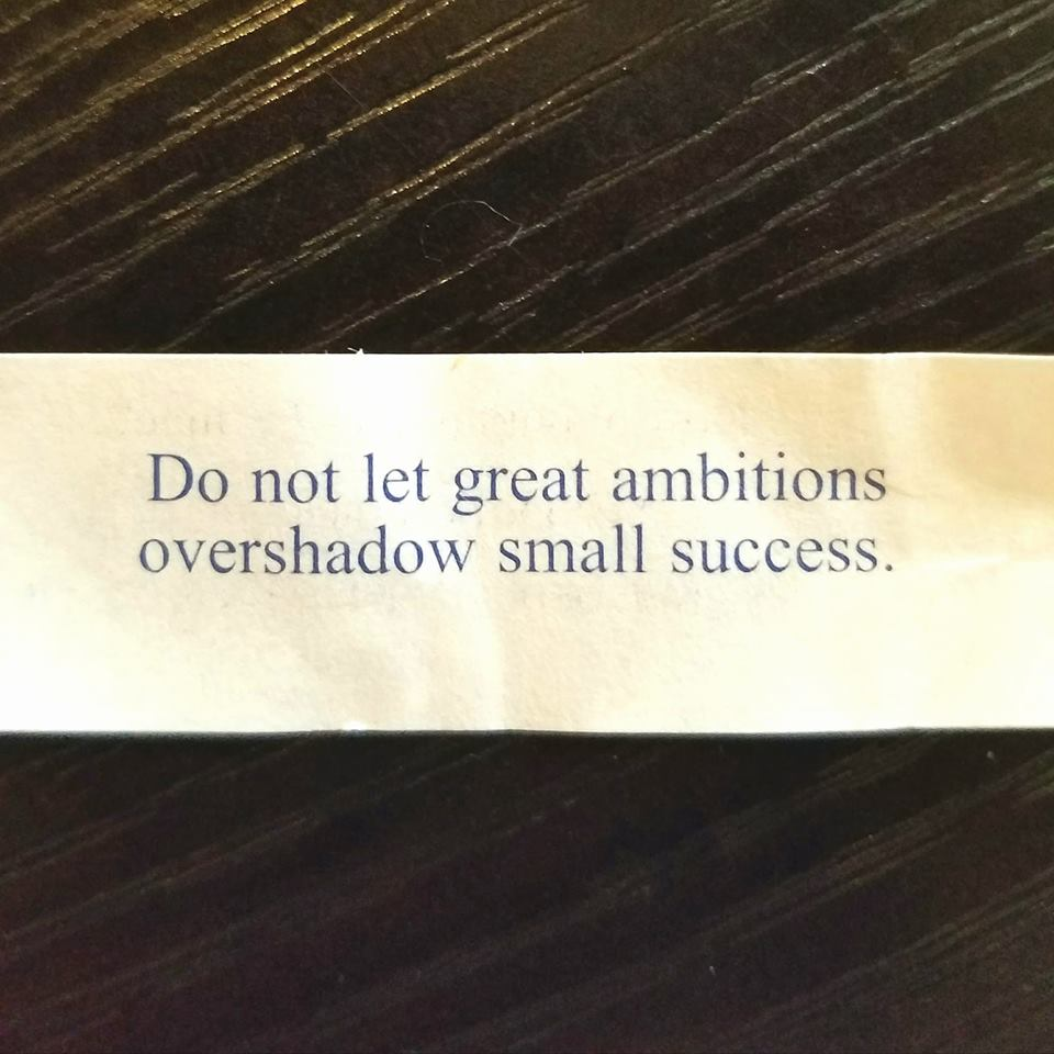 great ambitions